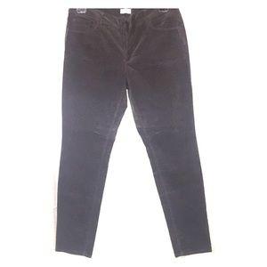 Loft curvy skinny corduroy pants, new with tag